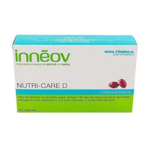 Tudo sobre 'Innéov Nutri-Care D 60 Cápsulas'