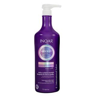 Inoar Absolut Speed Blond - Shampoo 1L