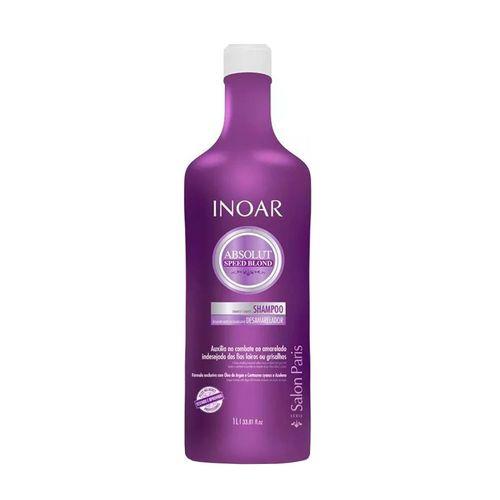 Inoar Absolut Speed Blond Shampoo 1l