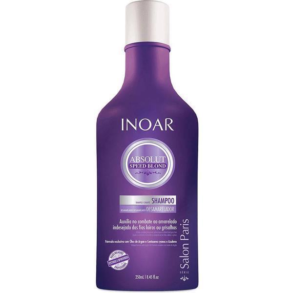 Inoar Absolut Speed Blond Shampoo 250ml