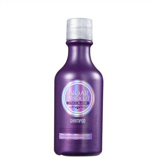 Inoar Absolut Speed Blond - Shampoo 70ml