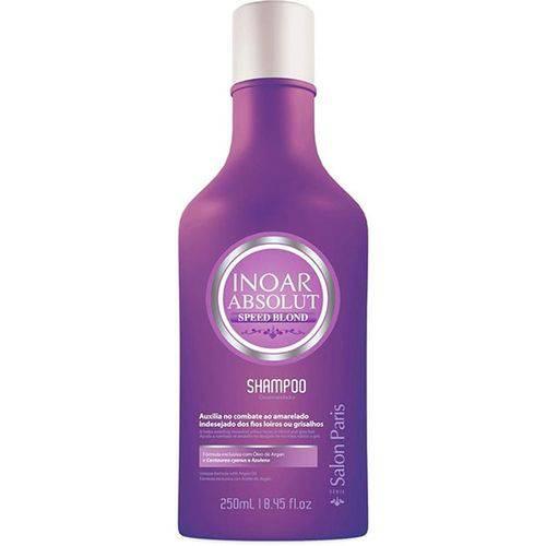 Inoar Absolut Speed Blond Shampoo Desamarelador 250ml