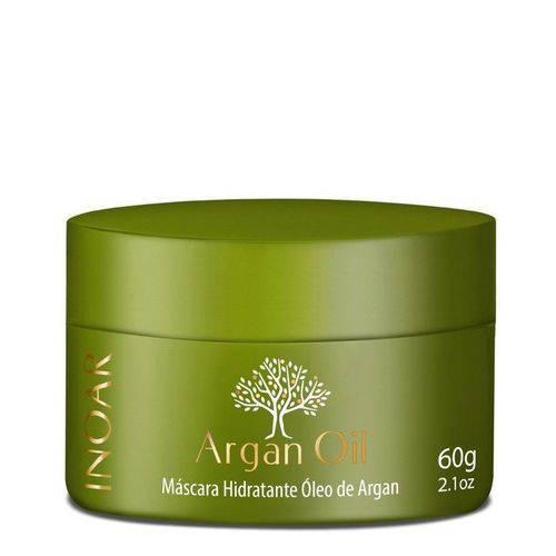 Inoar Argan Oil Máscara Hidratante 60g