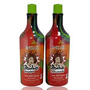Inoar Bombar Kit Shampoo e Condicionador - 2x1L
