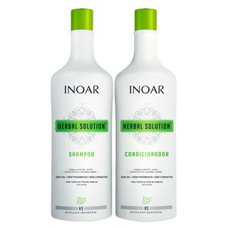 Tudo sobre 'Inoar Herbal Kit - Shampoo + Condicionador Kit'