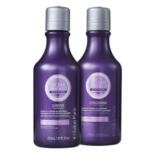 Inoar - Kit Speed Blond Shampoo + Condicionador 250ml
