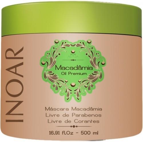 Inoar Máscara Macadâmia Oil Premium 500ml