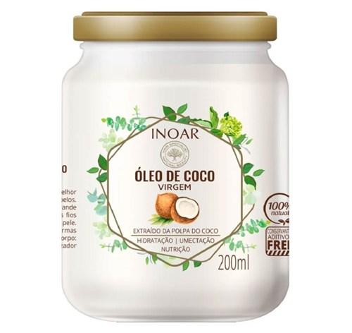 Inoar Óleo de Coco Virgem 200ml