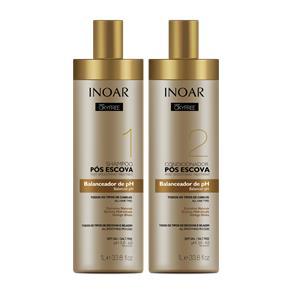 Inoar Oxyfree Kit Shampoo e Condicionador Pós Escova 2000ml