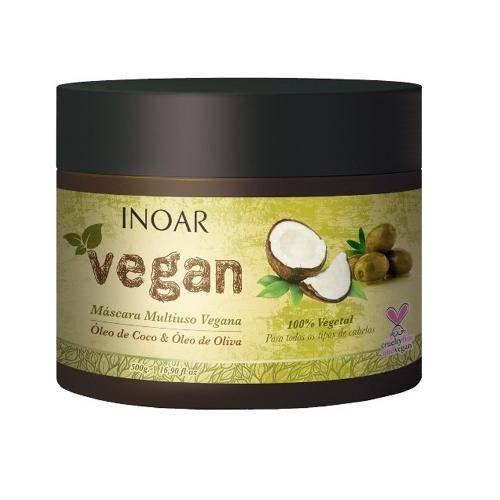 Tudo sobre 'Inoar Vegan Máscara Multiuso Vegana 500g'