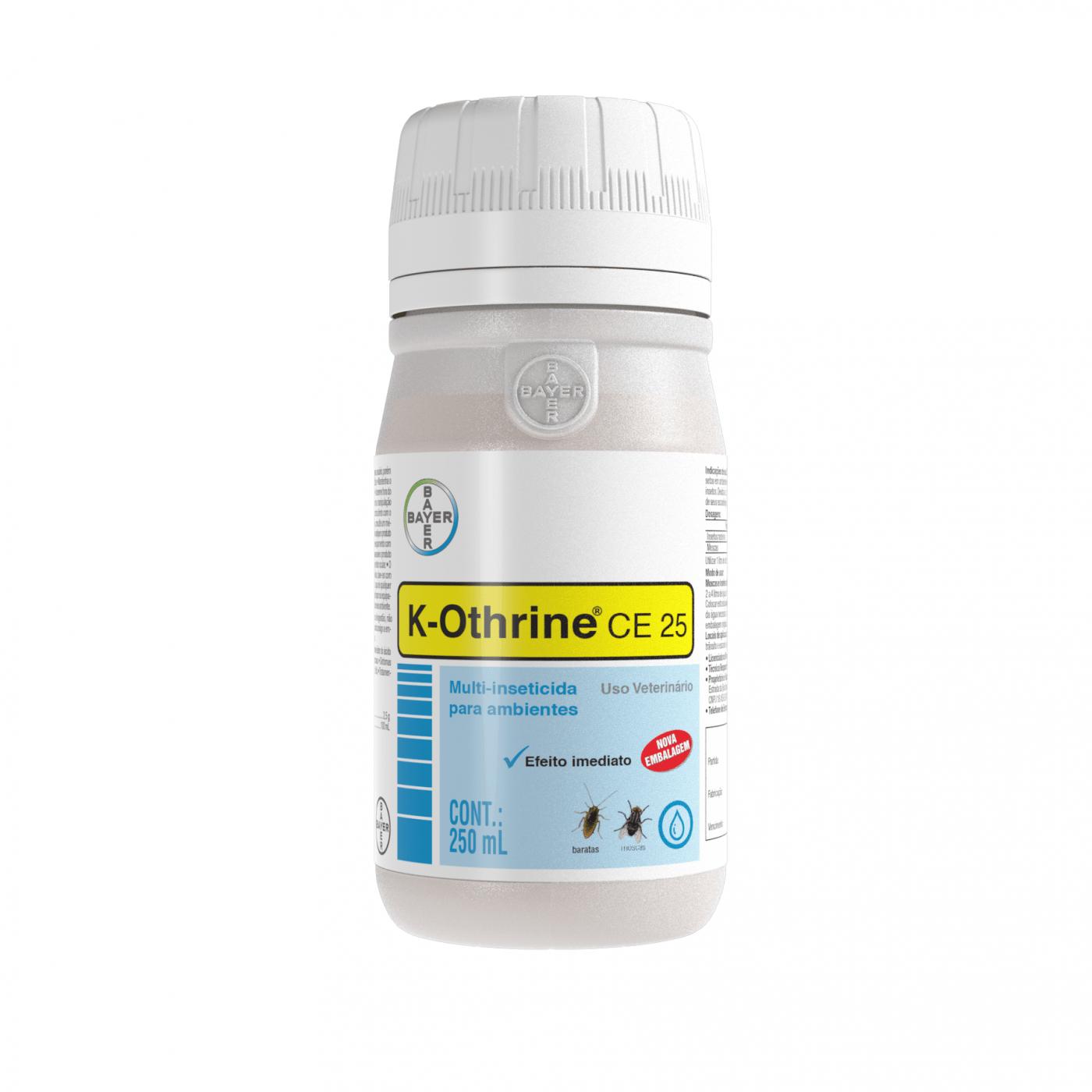 Inseticida K-Othrine CE-25 250 Ml