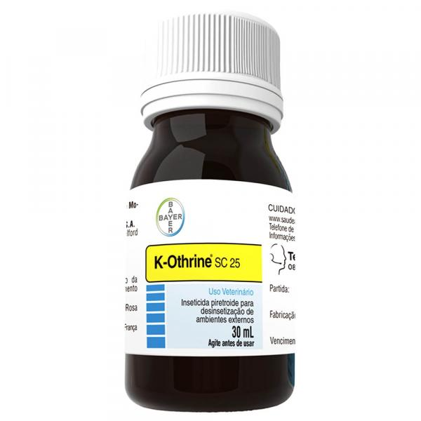 Inseticida K-Othrine SC 25 Bayer 30ml