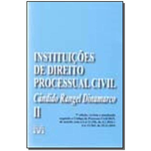 Instituições de Direito Processual Civil - Vol. 02 - 07ed17