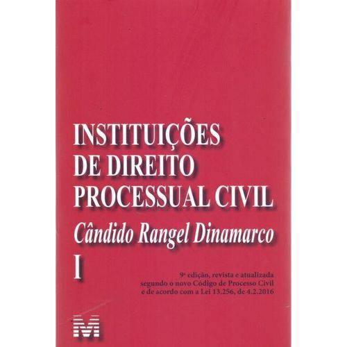 Instituições de Direito Processual Civil - Vol.1 - 9ª Ed. 2017
