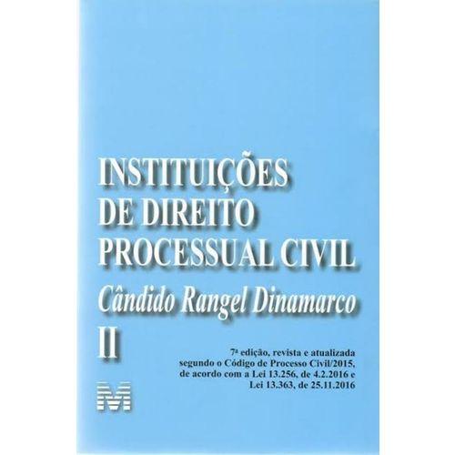 Instituicoes de Direito Processual Civil Vol. 2 - 7ª Ed