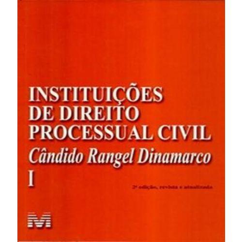 Instituicoes de Direito Processual Civil - Vol I - 02 Ed