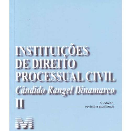 Instituicoes de Direito Processual Civil - Vol I - 06 Ed