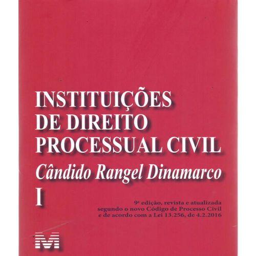 Instituicoes de Direito Processual Civil - Vol I - 09 Ed