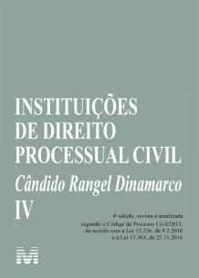 Instituições de Direito Processual Civil Vol. IV (2019)