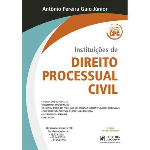 Instituições de Direito Processual Civil