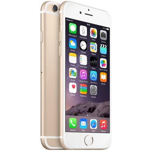 Iphone 6 Apple 128gb Dourado Seminovo