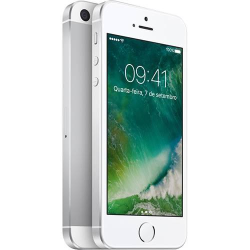 """Tudo sobre 'IPhone SE 16GB Prata Tela Retina 4"""" Câmera 12MP - Apple'"""
