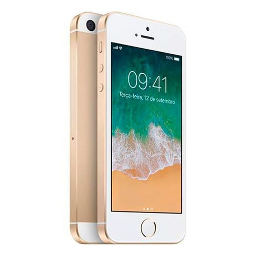 Iphone se Apple 16gb Dourado Seminovo