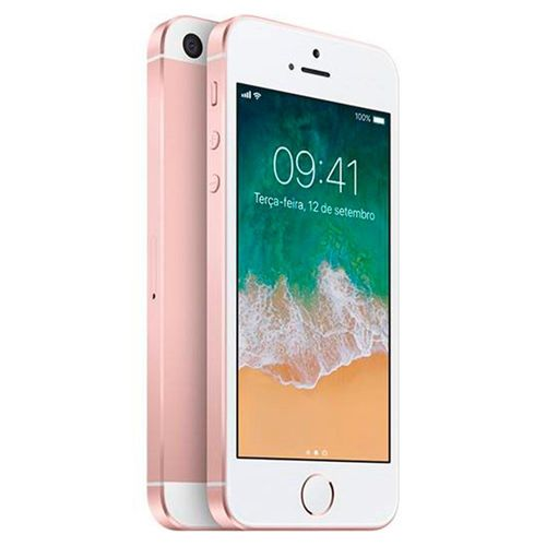 Iphone se Apple 64gb Rosa Seminovo