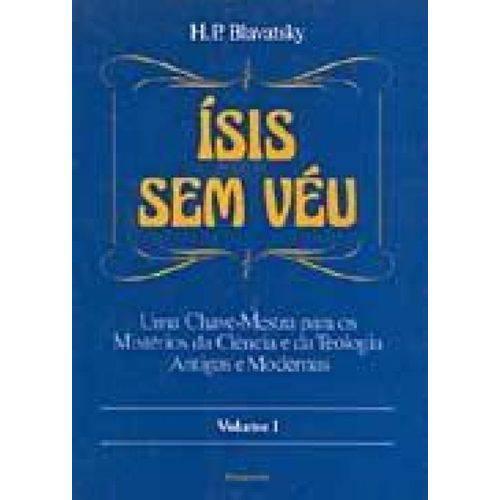 Tudo sobre 'Isis Sem Veu Vol. I'