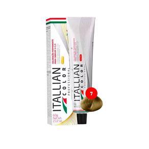 Itallian Color 7 - Tintura 60G - Louro