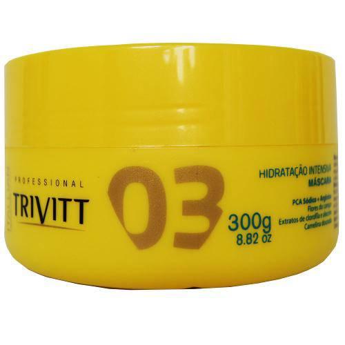 Itallian Hair Tech Trivitt 03 Mascara de Hidratação Intensiva - 300g