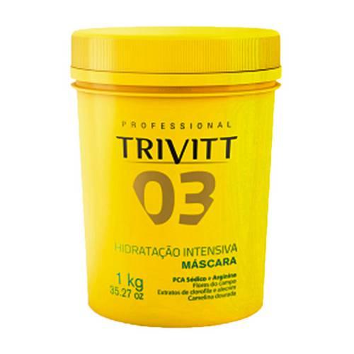 Itallian Trivitt Máscara de Hidratação Intensiva - 1kg