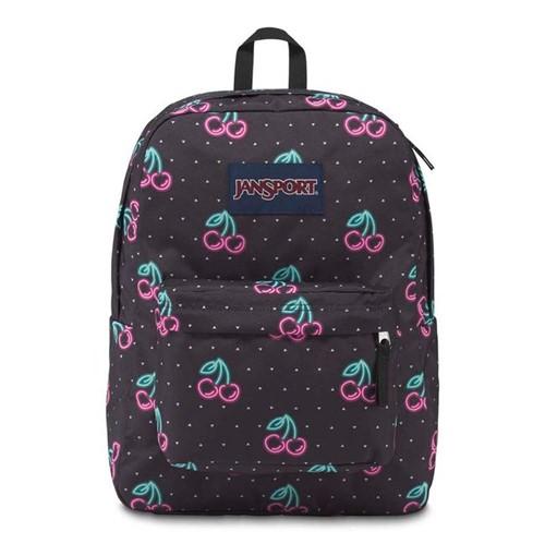 JanSport | Mochila SuperBreak Neon Cherries