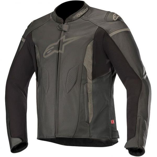 Jaqueta Alpinestars Faster Leather Preta (Couro)