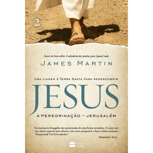Jesus - a Peregrinacao - Jerusalem - Harpercollins