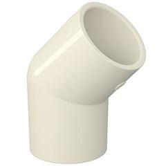 Joelho 45° Aquatherm 15mm Branco