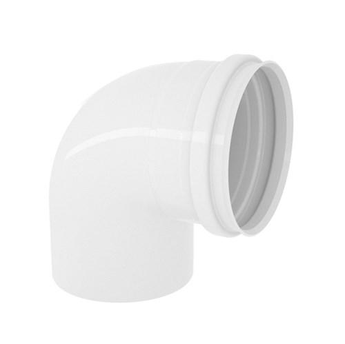 "Joelho 90° PVC para Esgoto 100mm ou 4"" Plastilit"