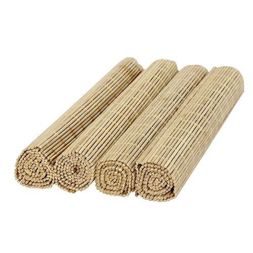 Jogo Americano Bambu Cru com 4 Peças