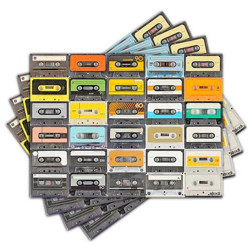Jogo Americano - Fitas Cassete com 4 Peças - 007jo