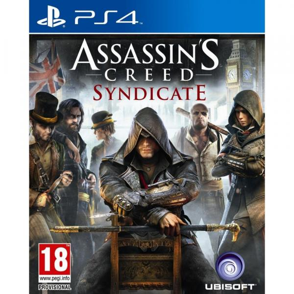 Jogo Assassins Creed Syndicate - PS4 - Sony PS4