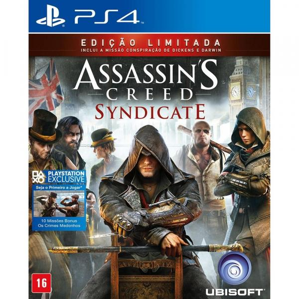 Jogo Assassins Creed: Syndicate - PS4 - Sony PS4