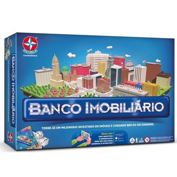 Jogo Banco Imobiliário com Aplicativo Original Estrela