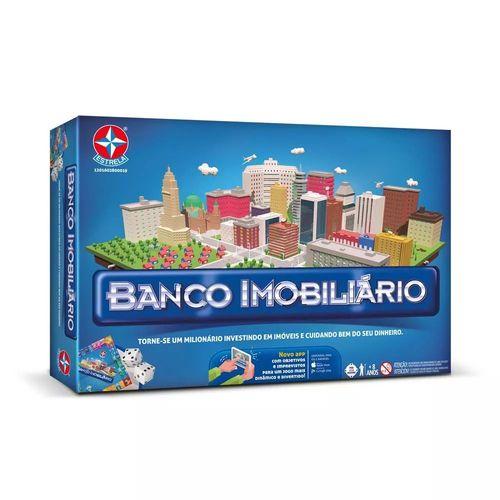 Jogo Banco Imobiliário Completo + App Estrela