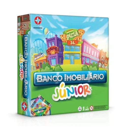 Jogo Banco Imobiliario Junior - Estrela