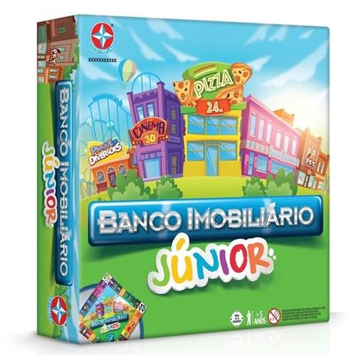 Jogo Banco Imobiliário Júnior Original Estrela