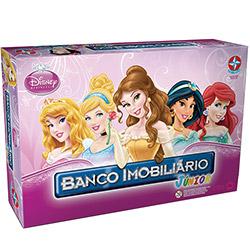 Jogo Banco Imobiliário Junior Princesas Estrela