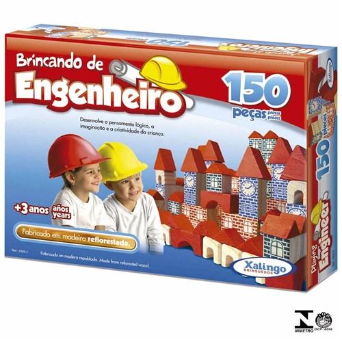 Jogo Brincando de Engenheiro 150 Peças 5305.4 Xalingo