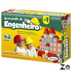 Jogo Brincando de Engenheiro N1 42 Peças 5275.4 Xalingo