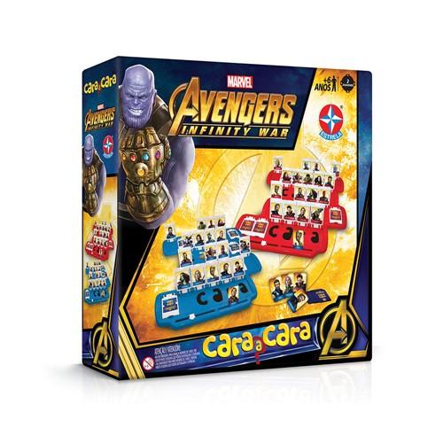Tudo sobre 'Jogo Cara a Cara Avengers Guerra Infinita'