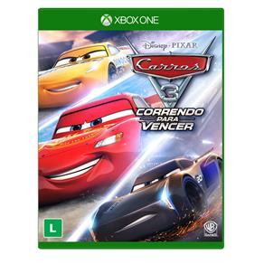 Tudo sobre 'Jogo Carros 3: Correndo para Vencer - Xbox One'